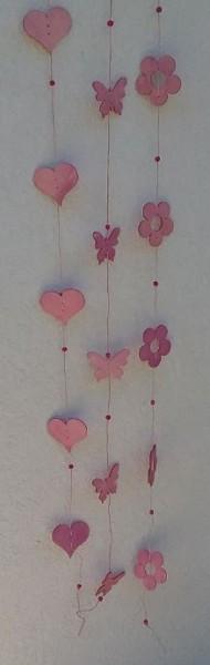Schmetterling+Blume+Herz in pink