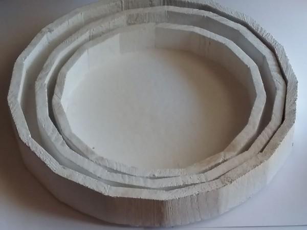Holz - Tablett rund